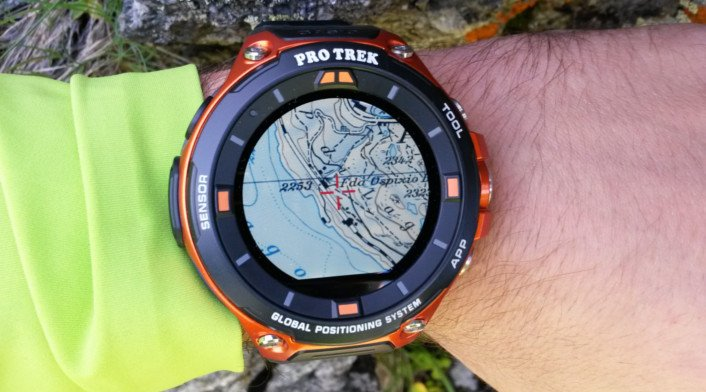 best casio hiking watch - comfortable fit on wrists - Pro trek WSD 30
