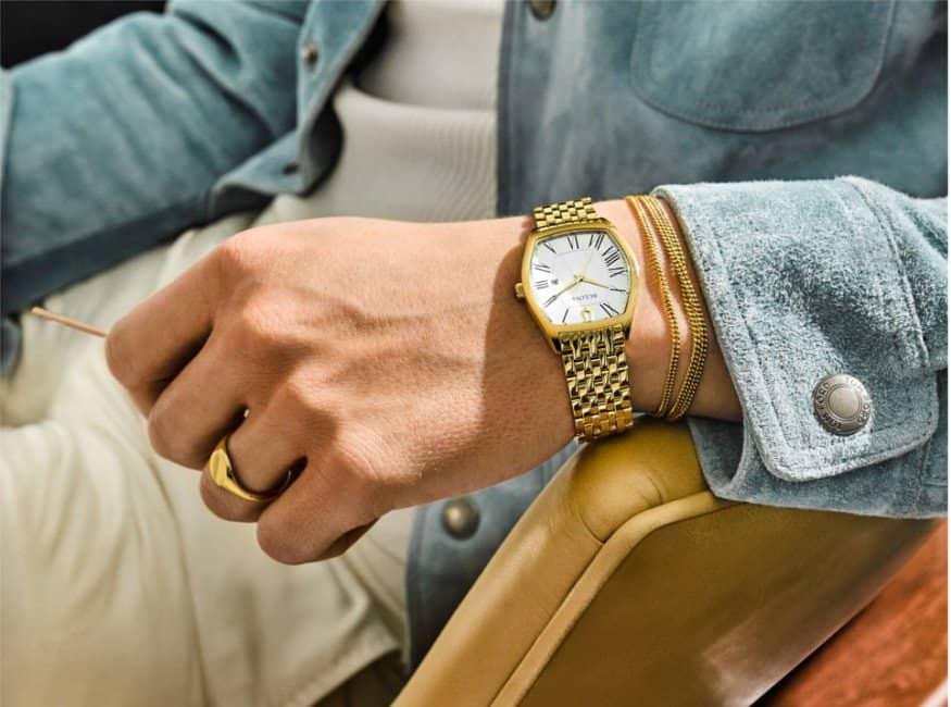 under 40mm watch on small wrist