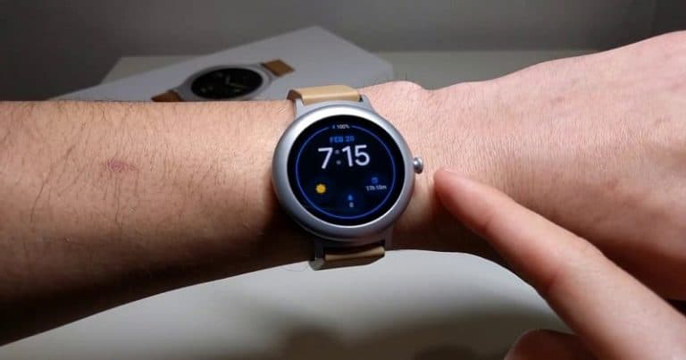 LG style watch - best smallest smartwatch