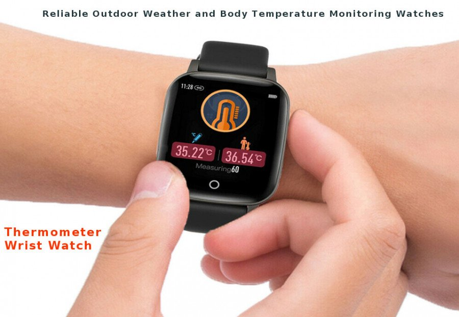 Best wrist watch with thermometer - a watch that shows temperature - a watch with temperature sensor