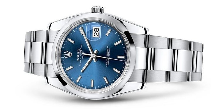 Rolex Datejust - best small watch for small wrists - best luxury watches under 40mm for small wrist - tiny wrist