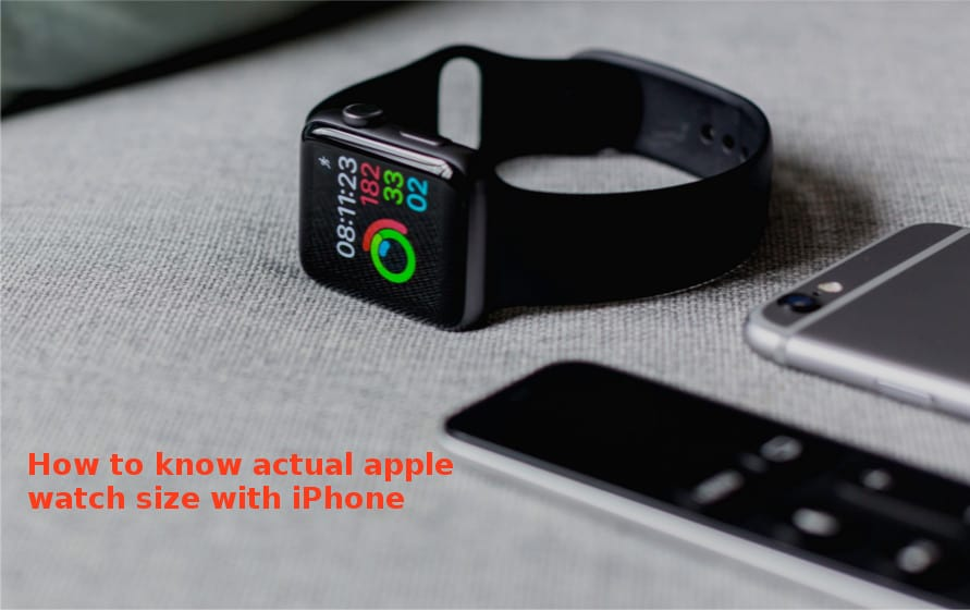 how big is apple watch - measure apple watch dial size with iPhone