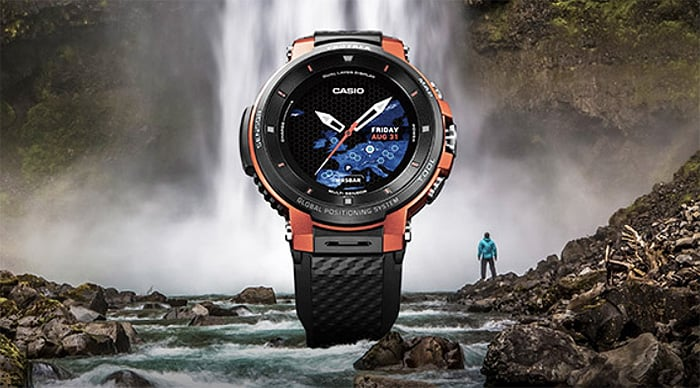 1 / 1 – Casio Pro Trek Casio WSD-F30 Touchscreen Outdoor Smart Watch - indestructible, shockproof, tough and the most durable smartwatch