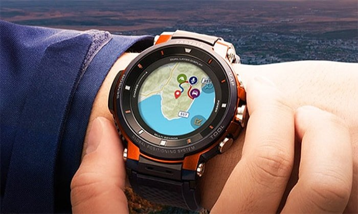 most durable and best rugged smartwatch - Casio outdoor st powerful shockproof rugged smartwatch