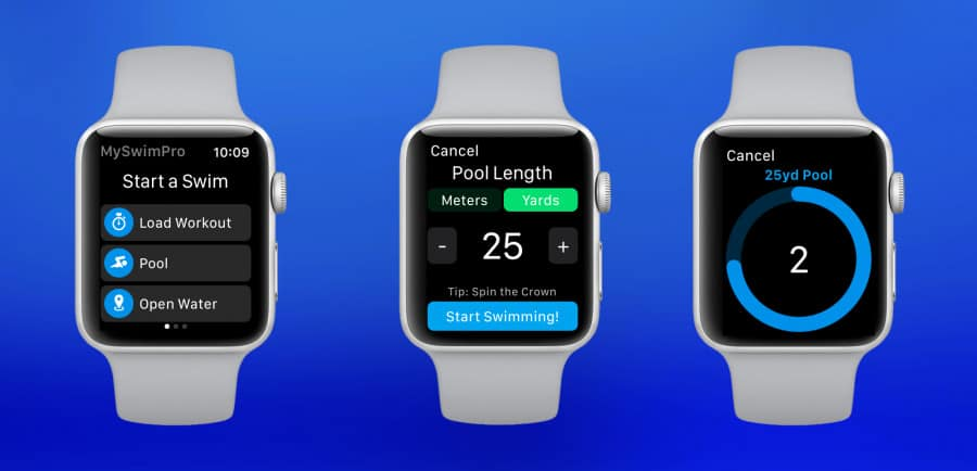 can you swim with apple watch - best swimming app for Apple watches
