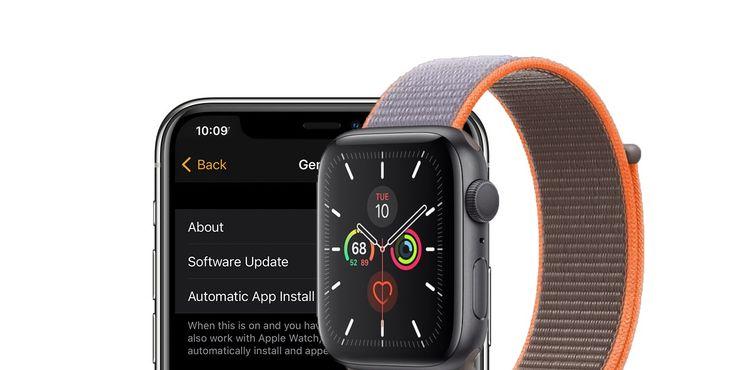 Apple watch update WatchOS