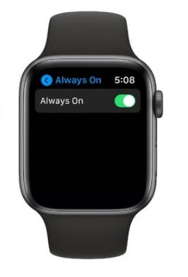 how can i make my apple watch battery last longer - disable always on display - how to extend apple watch battery life
