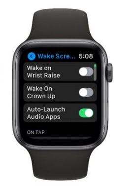 how to extend apple watch battery life - disable wake on wrist raised function on apple watch
