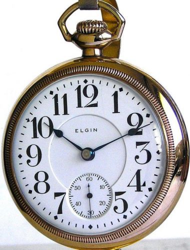 how to open Elgin pocket watches - how to remove a pocket watch back for Elgin
