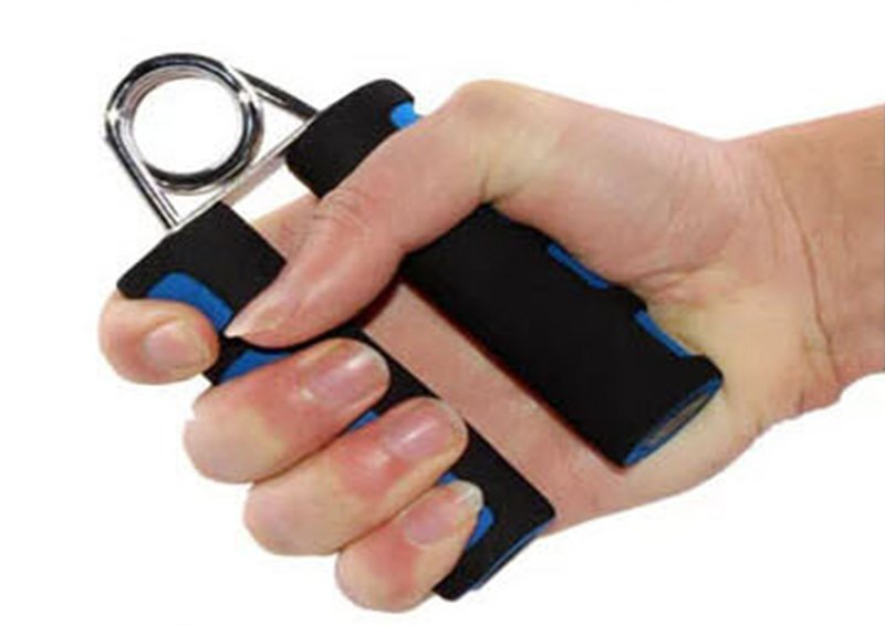 if you got weak wrists, here is How to strengthen wrists - with grip strengthener and forearm workout equipment