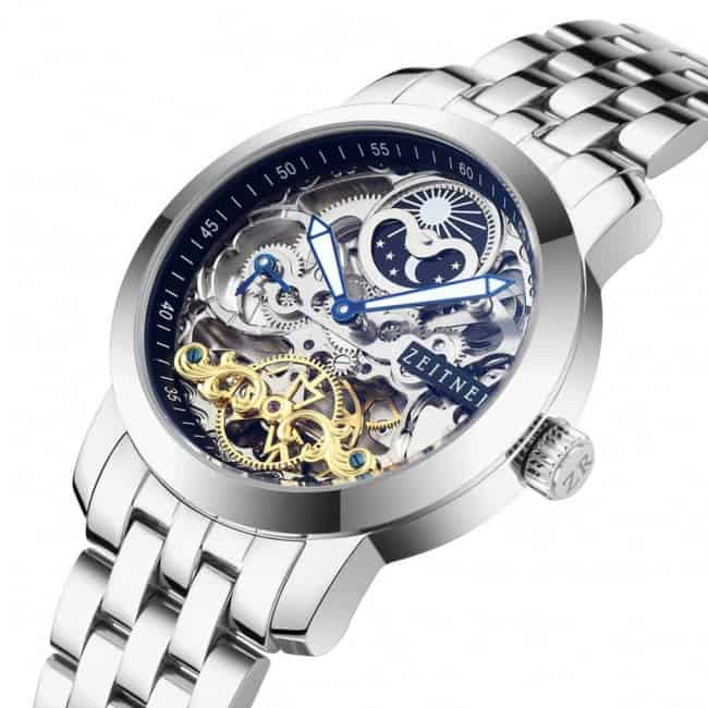 elegant and best skeleton watches for men - both skeleton automatic watch and mens skeleton mechanical watch