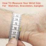 wrist measurement- how to measure wrist size - get average wrist size women and men