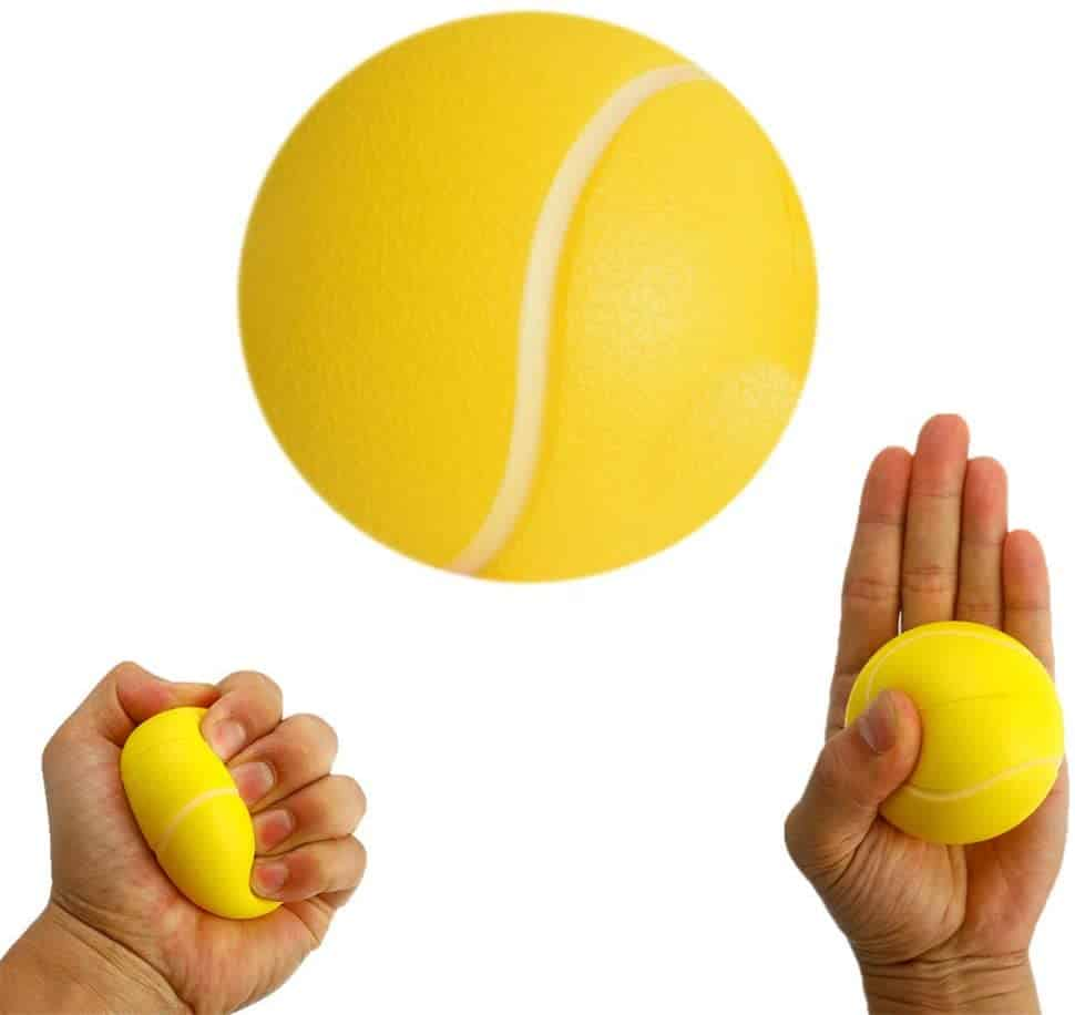 squeeze ball exercises - how to strengthen hands and how to get fatter fingers