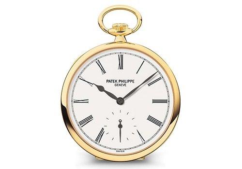 best pocket watches - Patek Phillipe - luxury pocket watch